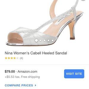 2ba164b5a22 Nina Shoes | Pink Velvet High Heels Sandals Caela By 75 | Poshmark
